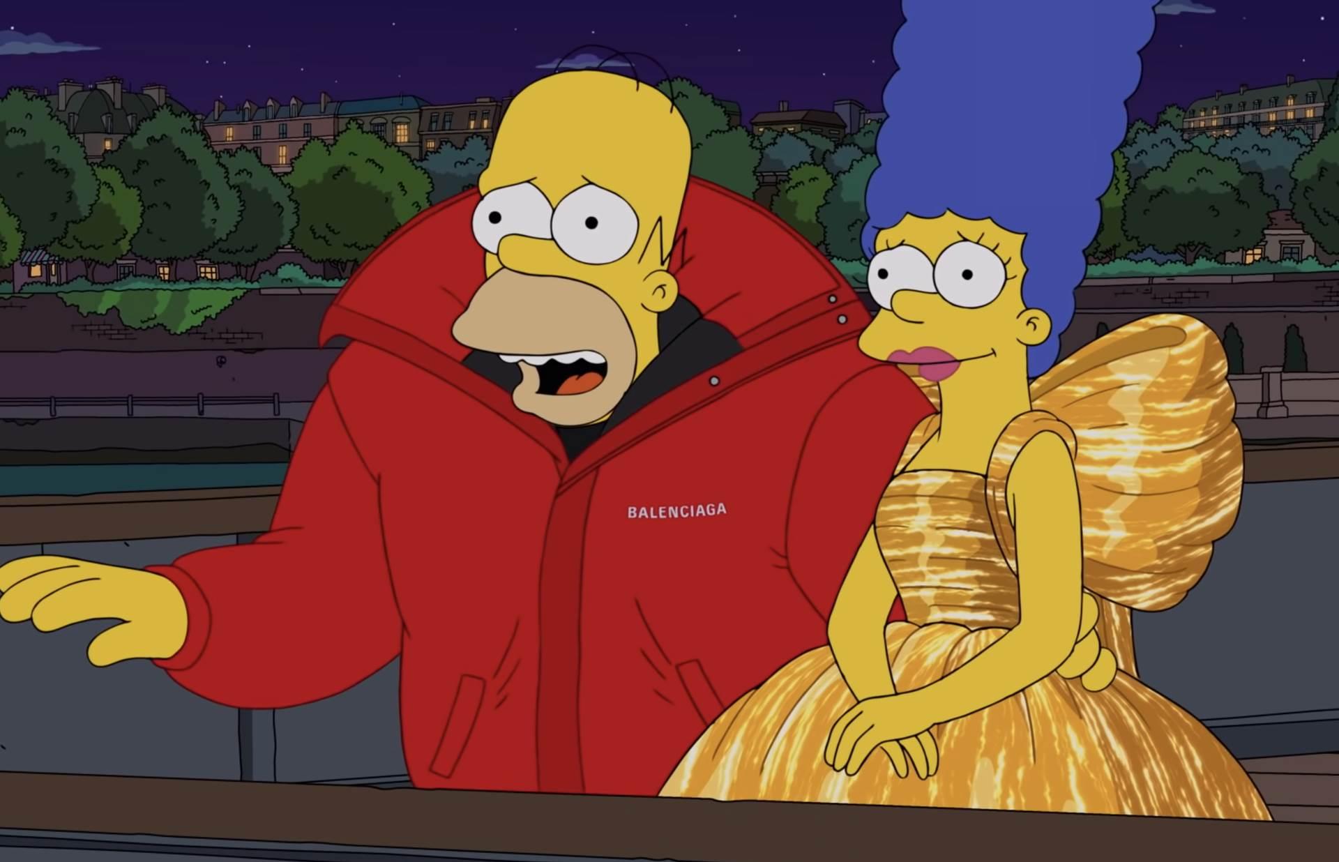 Balenciaga Simpsonovi